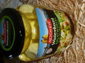 Waterkant Salatwürfel in Öl mit Kräutern, Rücker, Feta | Hochgeladen von: Suomi