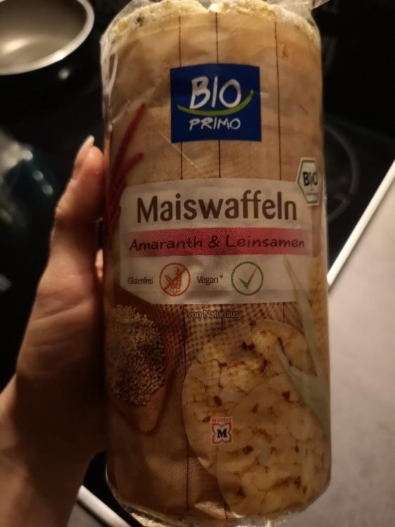 Maiswaffeln Amaranth & Leinsamen von AndyO   Hochgeladen von: AndyO